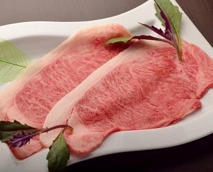 焼肉じゅう。A5ランクの仙台牛、牛肉