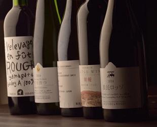 焼肉じゅう。日本ワイン